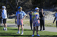 Fans watch Bill Murray play on the 4th hole at Spyglass Hill during Thursday's Round 1 of the 2018 AT&amp;T Pebble Beach Pro-Am, held over 3 courses Pebble Beach, Spyglass Hill and Monterey, California, USA. 8th February 2018.<br /> Picture: Eoin Clarke | Golffile<br /> <br /> <br /> All photos usage must carry mandatory copyright credit (&copy; Golffile | Eoin Clarke)