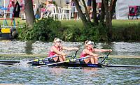 Henley Royal Regatta, Henley on Thames, Oxfordshire, 28 June - 2 July 2017.  Friday  09:22:46   30/06/2017  [Mandatory Credit/Intersport Images]<br /> <br /> Rowing, Henley Reach, Henley Royal Regatta.<br /> <br /> The Women's Double Sculls<br />  B.C. Donoghue &amp; O.K. Loe (Waiariki Rowing Club, New Zealand)