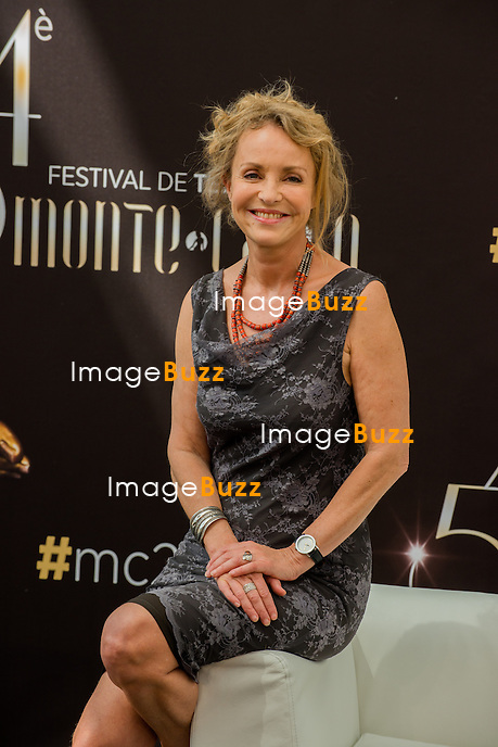 Fanny Cottencon attends the 54th Monte-Carlo Television Festival opening ceremony on June 8, 2014 in Monaco.