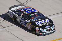 Nov. 7, 2009; Fort Worth, TX, USA; NASCAR Nationwide Series driver Eric McClure during the O'Reilly Challenge at the Texas Motor Speedway. Mandatory Credit: Mark J. Rebilas-