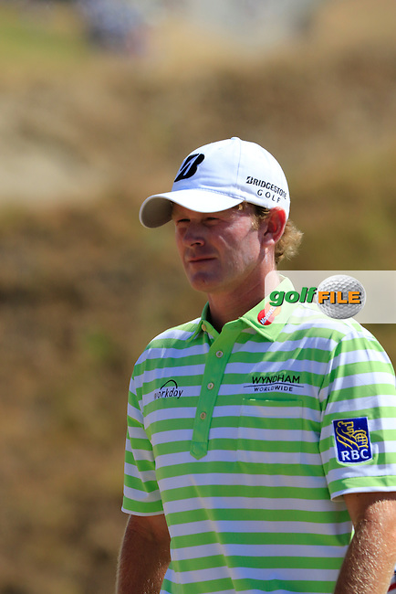 Brandt SNEDEKER (USA) at the 7th tee during Sunday's Final Round of the 2015 U.S. Open 115th National Championship held at Chambers Bay, Seattle, Washington, USA. 6/21/2015.<br /> Picture: Golffile | Eoin Clarke<br /> <br /> <br /> <br /> <br /> All photo usage must carry mandatory copyright credit (&copy; Golffile | Eoin Clarke)