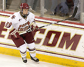 Tommy Atkinson (BC - 28) - The Boston College Eagles defeated the visiting University of Massachusetts-Lowell River Hawks 5-3 (EN) on Saturday, January 22, 2011, at Conte Forum in Chestnut Hill, Massachusetts.