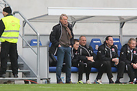 Trainer Lorenz Günther Köstner (Fortuna) - FSV Frankfurt vs. Fortuna Düsseldorf, Frankfurter Volksbank Stadion