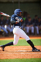 Villanova Wildcats right fielder Donovan May (26) at bat during a game against the Ball State Cardinals on March 3, 2017 at North Charlotte Regional Park in Port Charlotte, Florida.  Ball State defeated Villanova 3-1.  (Mike Janes/Four Seam Images)