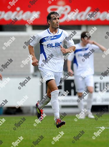 2012-07-28 / Voetbal / seizoen 2012-2013 / KFC De Kempen / Hicham El Addouly..Foto: Mpics.be