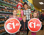 Official opening of new Dealz store in Enniscorthy. Back: Donna O'Rourke and Annie Kinsella (duty manager). Front: Sarah Jacob, Lucy Jacob and Robert Jacob. Photo: John Walsh/@Newsfile