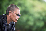 Japanese director Takashi Miike during interview at Sitges Film Festival in Barcelona, Spain October 14, 2017. (ALTERPHOTOS/Borja B.Hojas)