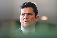 BRASILIA, DF, 04.12.2018 - MORO-FALA- Sérgio Moro, futuro ministro da Justiça, fala aos repórteres no CCBB, onde ocorre a transição do Governo, nesta terça-feira, 04.(Foto:Ed Ferreira / Brazil Photo Press)
