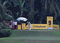 Casey O'Toole (USA) on the 9th tee during Round 2 of the Maybank Championship at the Saujana Golf and Country Club in Kuala Lumpur on Friday 2nd February 2018.<br /> Picture:  Thos Caffrey / www.golffile.ie<br /> <br /> All photo usage must carry mandatory copyright credit (&copy; Golffile | Thos Caffrey)