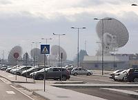 CERIMONIA DI APERTURA DEL NUOVO COMANDO  JFC NATO DI LAGO PATRIA .NELLA FOTO I RADAR .FOTO CIRO DE LUCA....OPENING CEREMONY OF THE NEW JFC NAPLES HQ