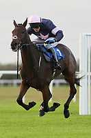 Cydonia (1) ridden by Charlie Poste wins the Frimstone Standard Open National Hunt Flat Race