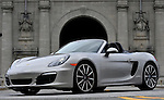(Boston, MA, 04/14/13) 2013 Porsche Boxster S is seen on Sunday, April 14, 2013. Staff photo by Christopher Evans