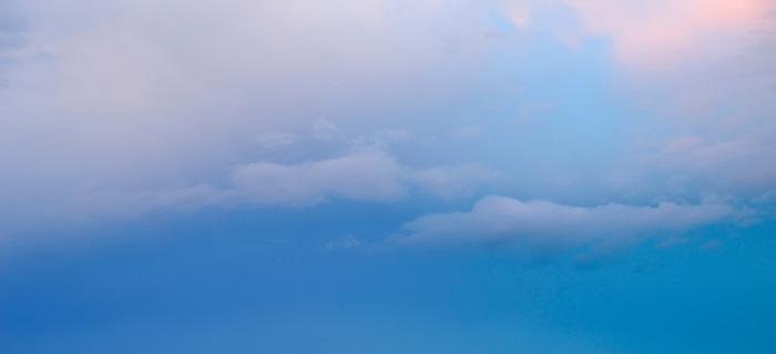 Azul secreto / Panamá.<br /> <br /> Panorámica de dos fotografías.<br /> <br /> Edición de 10 | Víctor Santamaría.