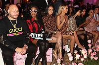 NEW YORK, NY- SEPTEMBER 8: Fat Joe, Remya Ma, Kehlani, Jasmine Sanders and Shanina Shaik at the Saweetie NYFW 2019 Runway Show in New York City on September 8, 2019. <br /> CAP/MPIWG<br /> ©WG/MPI/Capital Pictures