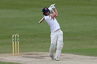 Daniel Lawrence hits out for Essex during Worcestershire CCC vs Essex CCC, Specsavers County Championship Division 1 Cricket at New Road on 13th May 2018