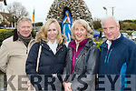 --------------------<br /> L-R Mike Dowling, Shelia McEvoy, Mary Dowling and Pat Barry at the official opening of the Ga&iacute;rd&iacute;n mhuire blessed well extension last Saturday morning in Ballyheigue.