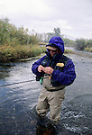 David Ody fly fishing on the Beaverhead River, Montana