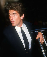 John F. Kennedy Jr. 1990, Photo By John Barrett/PHOTOlink