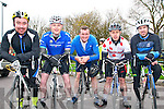 Kerry Crusaders Cycling Club Scenic Challenge: Taking part in the Kerry Crusaders Cycling Club Scenic Challenge on Sunday last Sheamus Mulvihill, Robbie Larkin, Eamonn Walsh, Jason Costello & Mike Dennehy all from Listowel.