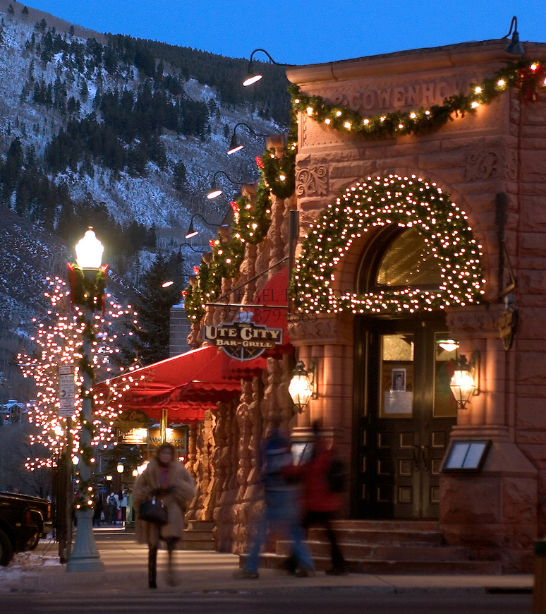 Downtown Aspen, CO. (corner of Mill Street and Hyman Avenue) Michael Brands.