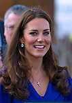 """CATHERINE, DUCHESS OF CAMBRIDGE PREGNANT .An official staement by Buckingham Palace confirmed Kate's pregnancy. However, no date of birth has been given...KATE'S FASHION FAUX PAS - Time For A Chain!.It look like Kate's old silver chain needs changing..While the Duchess of Cambridge was visiting the Treehouse in Ipswich the chain was knotted in two places..Kate was first seen wearing the chain at the wedding of Hugh van Cutsem and Rose Astor in June 2005..Mandatory Credit Photo: ©DIAS/NEWSPIX INTERNATIONAL..**ALL FEES PAYABLE TO: """"NEWSPIX INTERNATIONAL""""**..IMMEDIATE CONFIRMATION OF USAGE REQUIRED:.Newspix International, 31 Chinnery Hill, Bishop's Stortford, ENGLAND CM23 3PS.Tel:+441279 324672  ; Fax: +441279656877.Mobile:  07775681153.e-mail: info@newspixinternational.co.uk"""