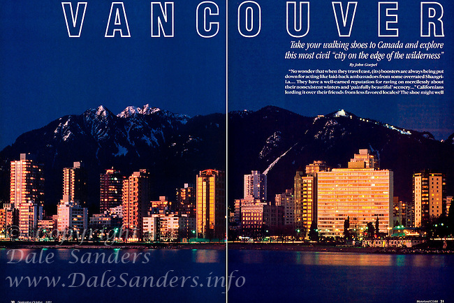 "MOTORLAND Magazine ""Vancouver "" Article - 2 Page Spread."