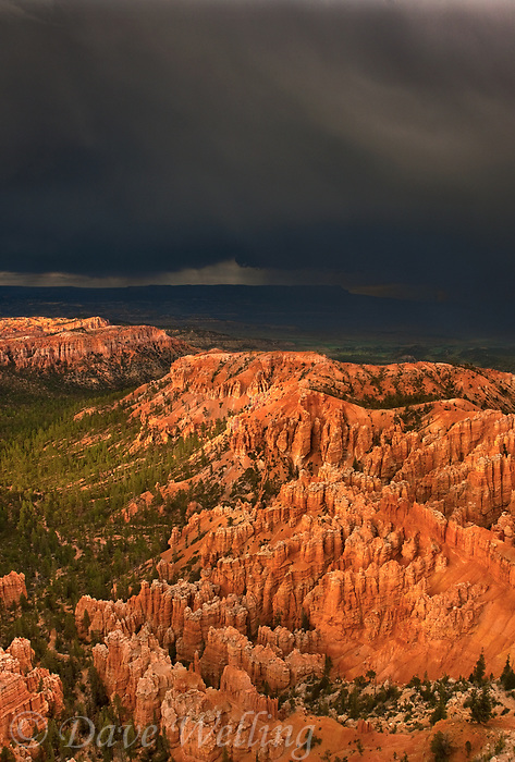 730750164v view from bryce point during a monsoon summer thunderstorm in bryce canyon national park utah united states