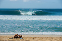 at Pipeline on the Northshore of Oahu in Hawaii.
