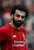 7th March 2020; Anfield, Liverpool, Merseyside, England; English Premier League Football, Liverpool versus AFC Bournemouth; Mohammed Salah of Liverpool