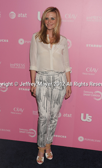 WEST HOLLYWOOD, CA - APRIL 18: Bonnie Somerville. attends Us Weekly's Hot Hollywood 2012 Style Issue Event at Greystone Manor Supperclub on April 18, 2012 in West Hollywood, California.