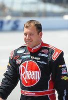 Apr 25, 2009; Talladega, AL, USA; NASCAR Nationwide Series driver Ryan Newman prior to the Aarons 312 at the Talladega Superspeedway. Mandatory Credit: Mark J. Rebilas-