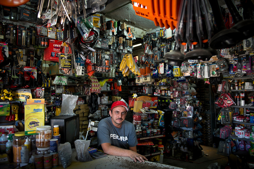 Oscar Gomez Bocorro. Hardware store owners in Guadalajara, Jalisco,  Mexico