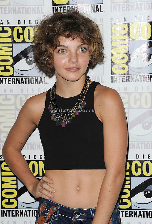 Camren bicondova at the Gotham Panel at Comic-Con 2014  held at The Hilton Bayfront Hotel in San Diego, Ca. July 26, 2014.