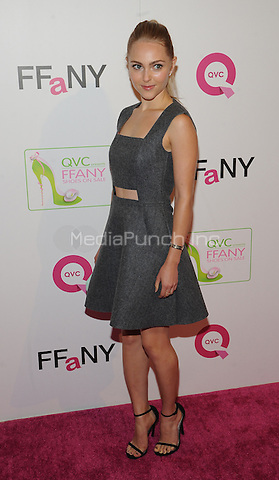 New York,NY-October 8: AnnaSophia Robb at QVC presents 'FFANY Shoes on Sale' at Waldorf Astoria Hotel ln New York City on October 8, 2014. Credit: John Palmer/MediaPunch
