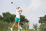 Anna Nordqvist plays during the World Celebrity Pro-Am 2016 Mission Hills China Golf Tournament on 23 October 2016, in Haikou, Hainan province, China. Photo by Victor Fraile / Power Sport Images
