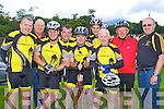 Currow cyclist gearing up at the start of the Ring of Kerry cycle on Saturday l-r: Paudie McCarthy, Brendan O'Keeffe, Cieran O'Connor, Shane O'Neill, Joe Geaney, Mike Fleming ....