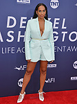 Melina Matsoukas 095 attends the American Film Institute's 47th Life Achievement Award Gala Tribute To Denzel Washington at Dolby Theatre on June 6, 2019 in Hollywood, California