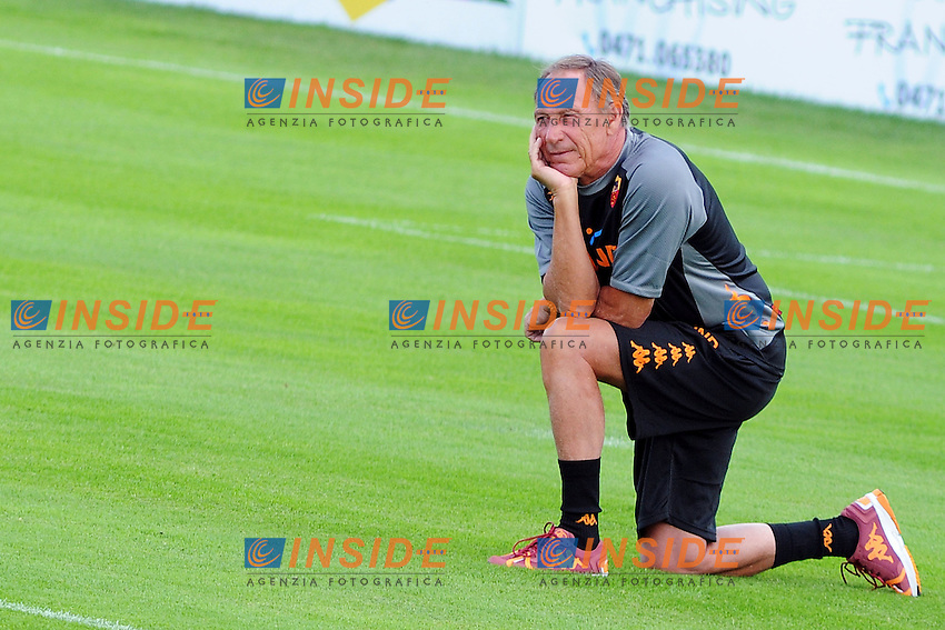 Zdenek Zeman.Riscone di Brunico (BZ) 06/07/2012 Allenamento As Roma.Football Calcio 2012/2013 .Foto Insidefoto Christian Mantuano