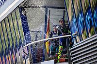 Fabio Quartararo Sepang Racing Team SRT winner, Valentino Rossi Yamaha third <br /> Andalucia MotoGP 2020 <br /> Jerez 26/07/2020 Moto Gp Andalucia 2020 / Spain<br /> Photo Yamaha Press Office / Insidefoto <br /> EDITORIAL USE ONLY