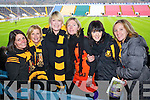 Pictured at Pairc Ui Chaoimh on Sunday for the Crokes v  Castlehaven senior club final game were l-r: Brian O'Shea, Debra O'Shea, Breda Cronin, Jessica Lyne, Joanie Sexton, Anne Byrnes and Frances O'Sullivan,..