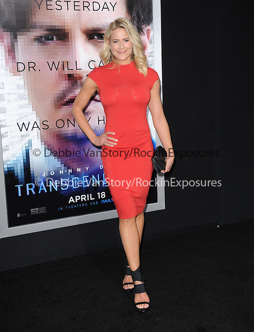 """Brittany Daniel attends The L.A. Premiere of Alcon Entertainment's """"TRANSCENDENCE"""" held at The Regency Village Theater in Westwood, California on April 10,2014                                                                               © 2014Hollywood Press Agency"""