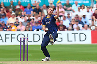 Jamie Porter in bowling action for Essex during Essex Eagles vs Glamorgan, NatWest T20 Blast Cricket at The Cloudfm County Ground on 16th July 2017