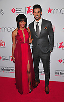 NEW YORK, NY - February 8: Rachel Lindsay And Ryan Abasolo at the Red Dress / Go Red For Women Fashion Show at Hammerstein Ballroom on February 8, 2018 in New York City Credit: John Palmer / MediaPunch