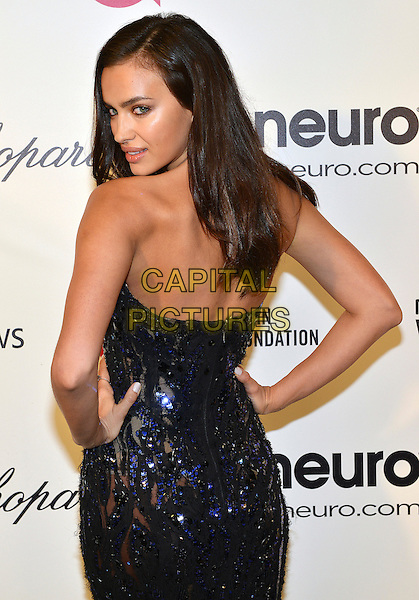 02 March 2014 - West Hollywood, California - Irina Shayk. 22nd Annual Elton John Academy Awards Viewing Party held at West Hollywood Park.  <br /> CAP/ADM/CC<br /> &copy;ChewAdMedia/Capital Pictures