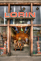 Lorin, eco-friendly shoe Store, Third Street Promenade, Downtown,  Santa Monica; CA;, Third Street Promenade, Downtown,  stores, shopping, street mall; beach community, retail stores, open-air, Santa Monica; CA;