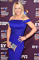 Gail Emms at the BT Sport Industry Awards 2017 at Battersea Evolution, London, UK. <br /> 27 April  2017<br /> Picture: Steve Vas/Featureflash/SilverHub 0208 004 5359 sales@silverhubmedia.com