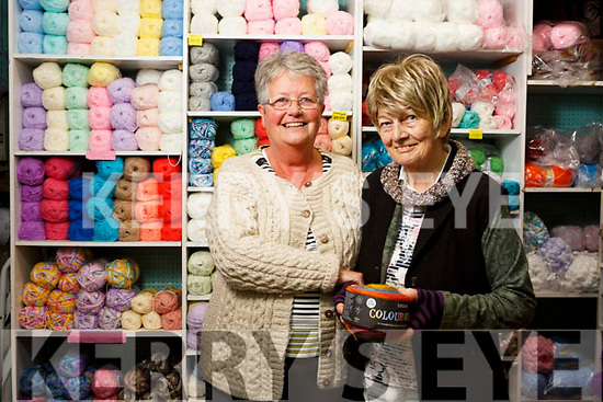 Helen O'Shea is retiring after a 40 years career at the Knitting shop, The Mall shopping centre Tralee here with Susan Turtington