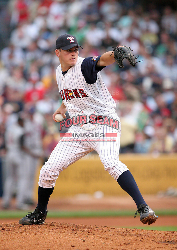 Pitcher Chad Durbin of the Toledo Mudhens during the Triple-A All-Star Game at Fifth Third Field on July 12, 2006 in Toledo, Ohio.  (Mike Janes/Four Seam Images)