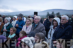 Members of the congregation at the annual Dawn Mass in Annagh Graveyard on Easter Sunday morning