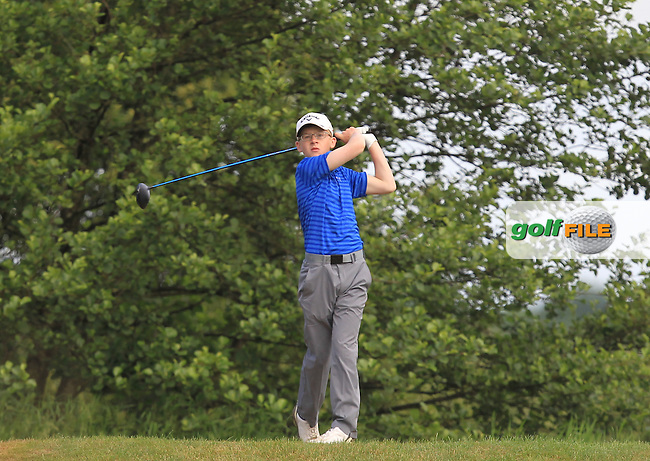 David Kitt (Athenry) on the 12th tee during Round 3 of the 2016 Connacht Strokeplay Championship at Athlone Golf Club on Sunday 12th June 2016.<br /> Picture:  Golffile | Thos Caffrey